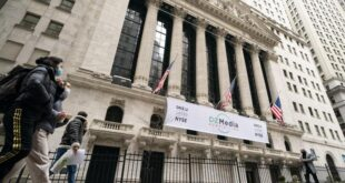 Wall Street Posts Weekly Loss, Ends Higher